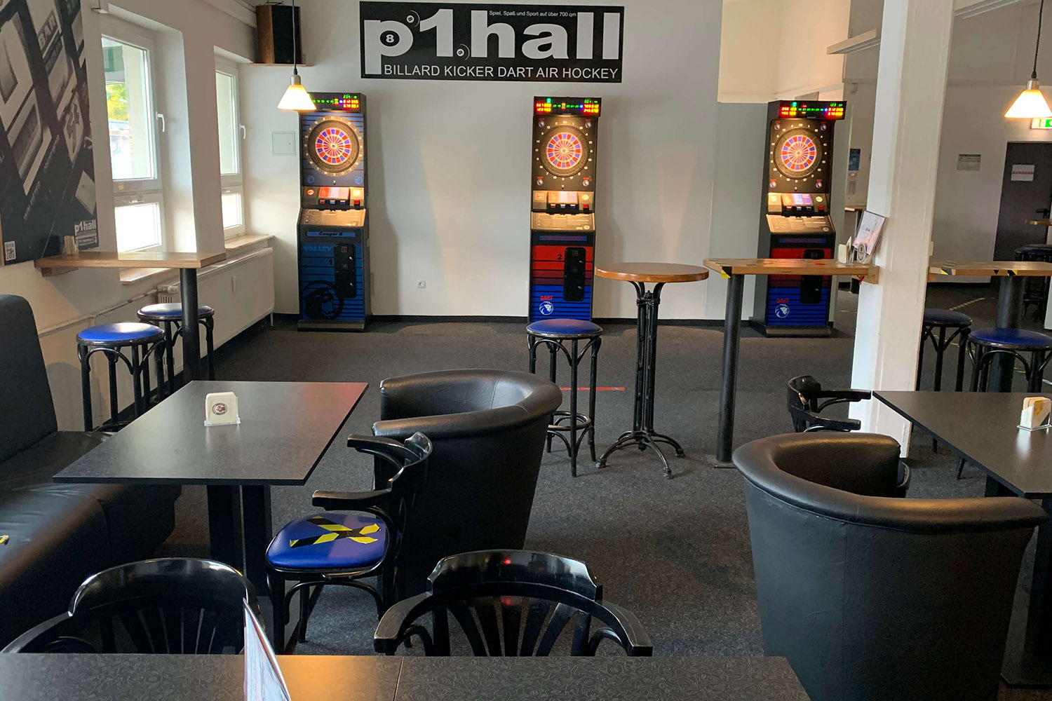 P1 Hall Electronic Darts